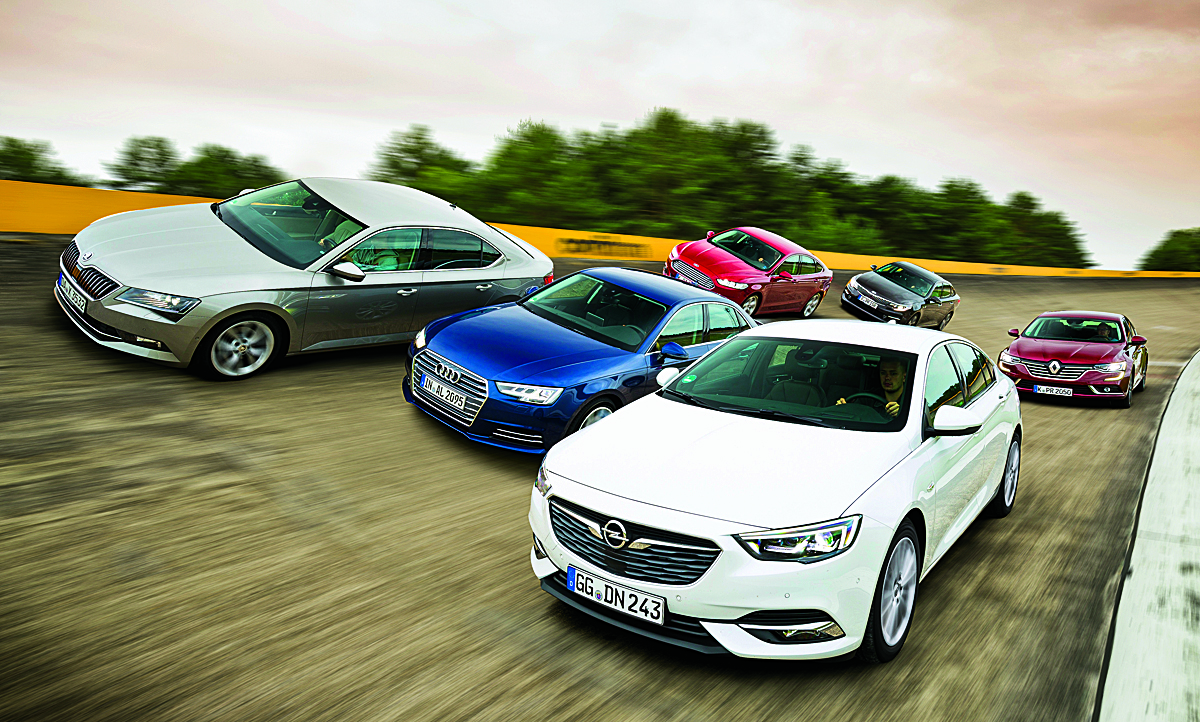 Insignia Grand Sport/A4/Mondeo/Talisman/Superb: Test | autozeitung.de
