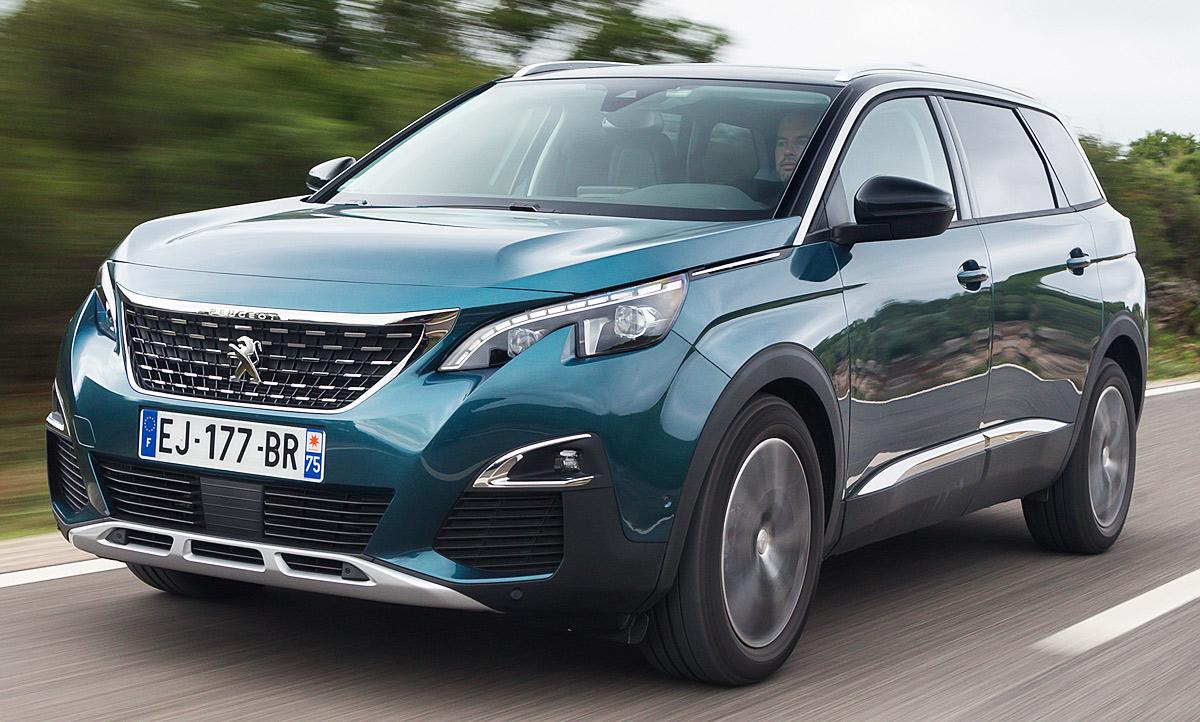 Neuer Peugeot 5008 2017 Erste Fahrt Autozeitung De