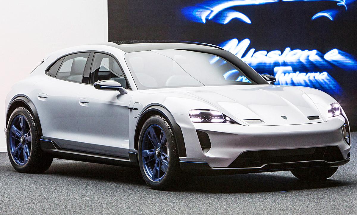Mercedes Benz Van >> Porsche Mission E Cross Turismo (2018): Preis | autozeitung.de