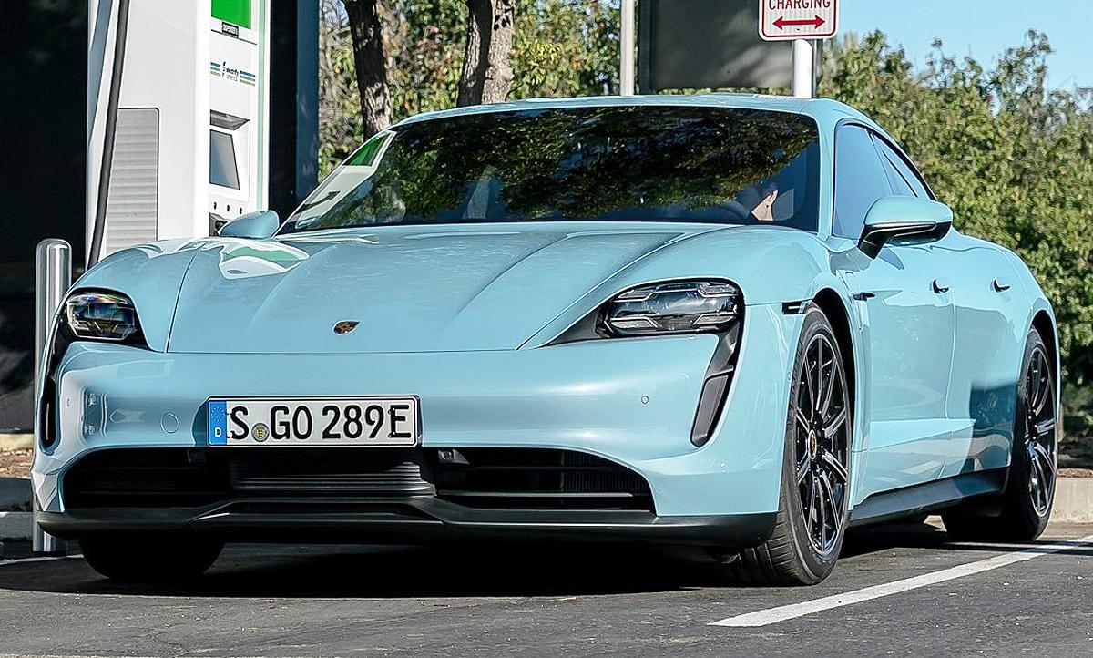 Porsche Taycan fährt Cannonball-Rekord: Video | autozeitung.de