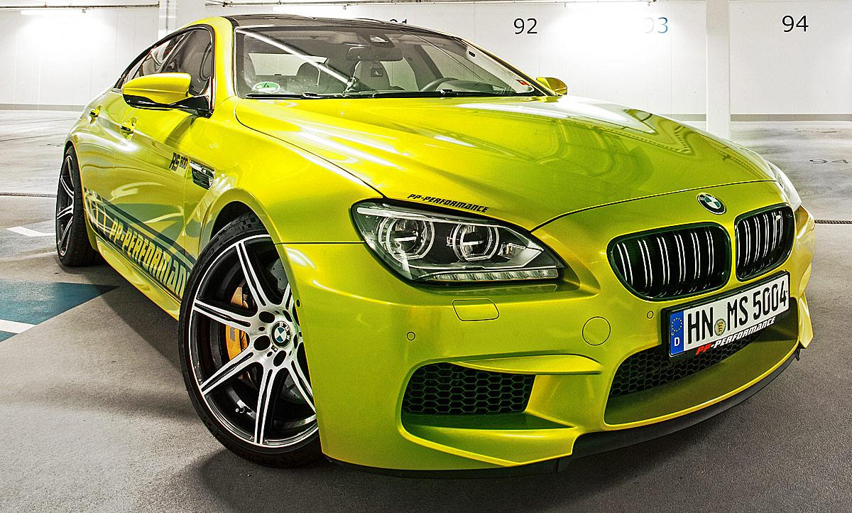 Bmw M6 Gran Coupe Tuning Von Pp Performance Autozeitung De