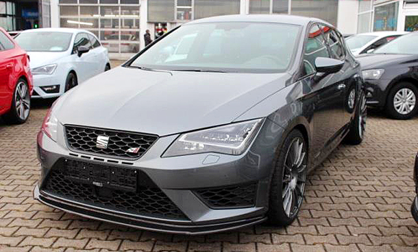 seat leon cupra mit 500 ps video. Black Bedroom Furniture Sets. Home Design Ideas