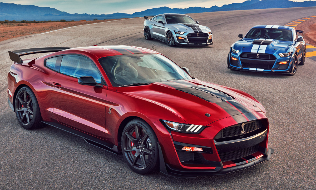 Supercars Gallery Ford Mustang Gt Rot