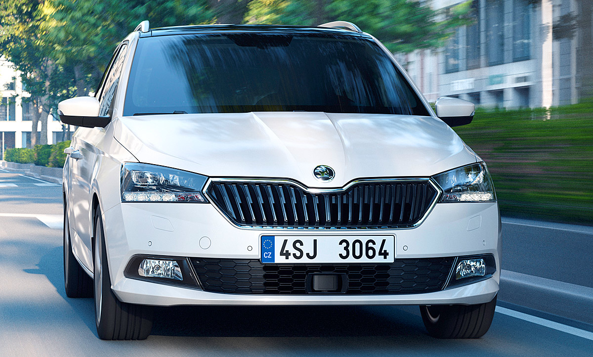 skoda fabia combi facelift 2018 preis motoren. Black Bedroom Furniture Sets. Home Design Ideas