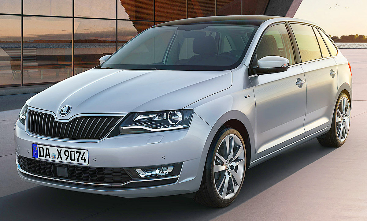 skoda rapid facelift 2017 preis motoren update. Black Bedroom Furniture Sets. Home Design Ideas