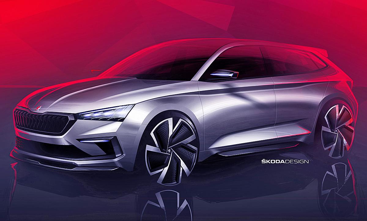 Skoda Rapid Nachfolger Autosalon Paris 2018 Autozeitung De