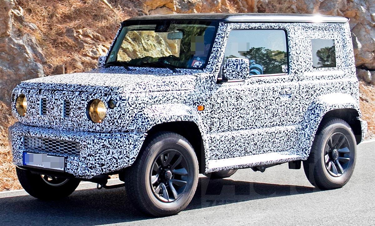 Suzuki Jimny 4 Generation Autozeitung De