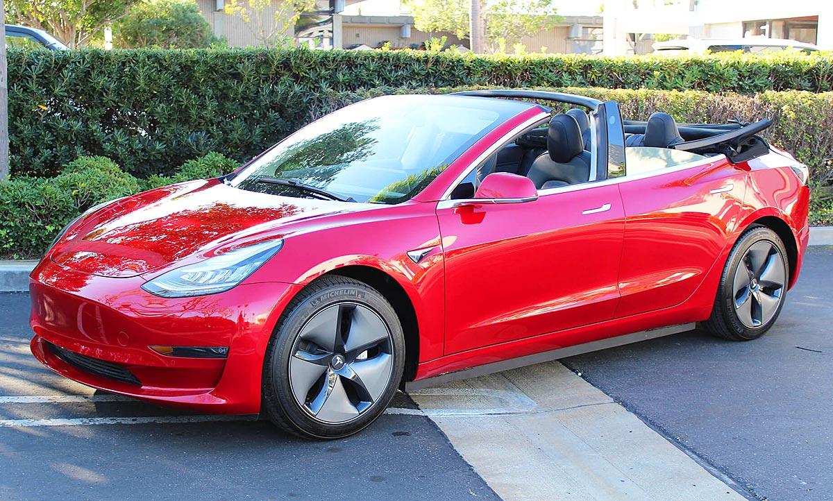 Tesla Model 3 Cabrio: Tuning von NCE (Preis) | autozeitung.de