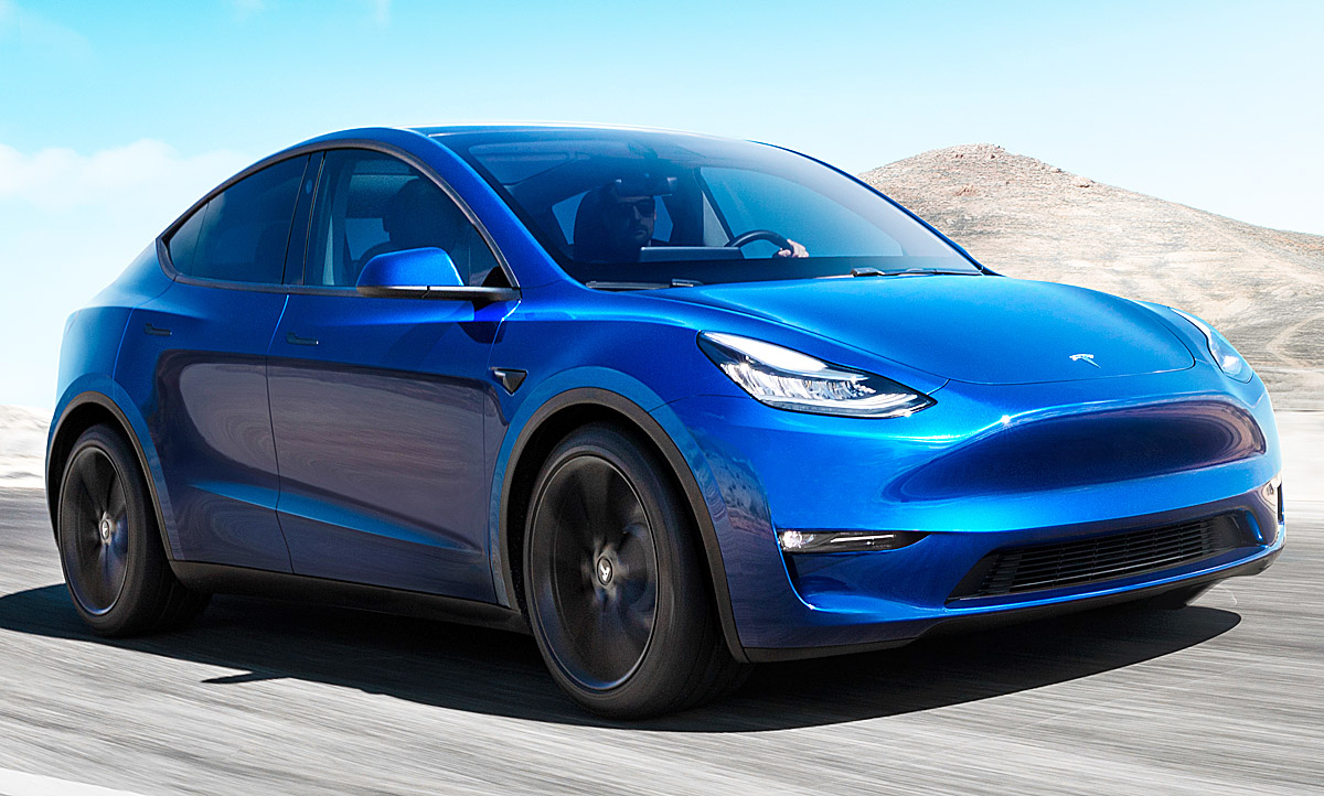 Model Y Photo: Tesla Model Y (2019): Motor & Ausstattung