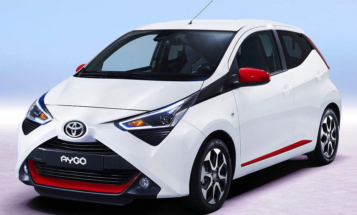 toyota aygo facelift 2018 preis motor crashtest. Black Bedroom Furniture Sets. Home Design Ideas