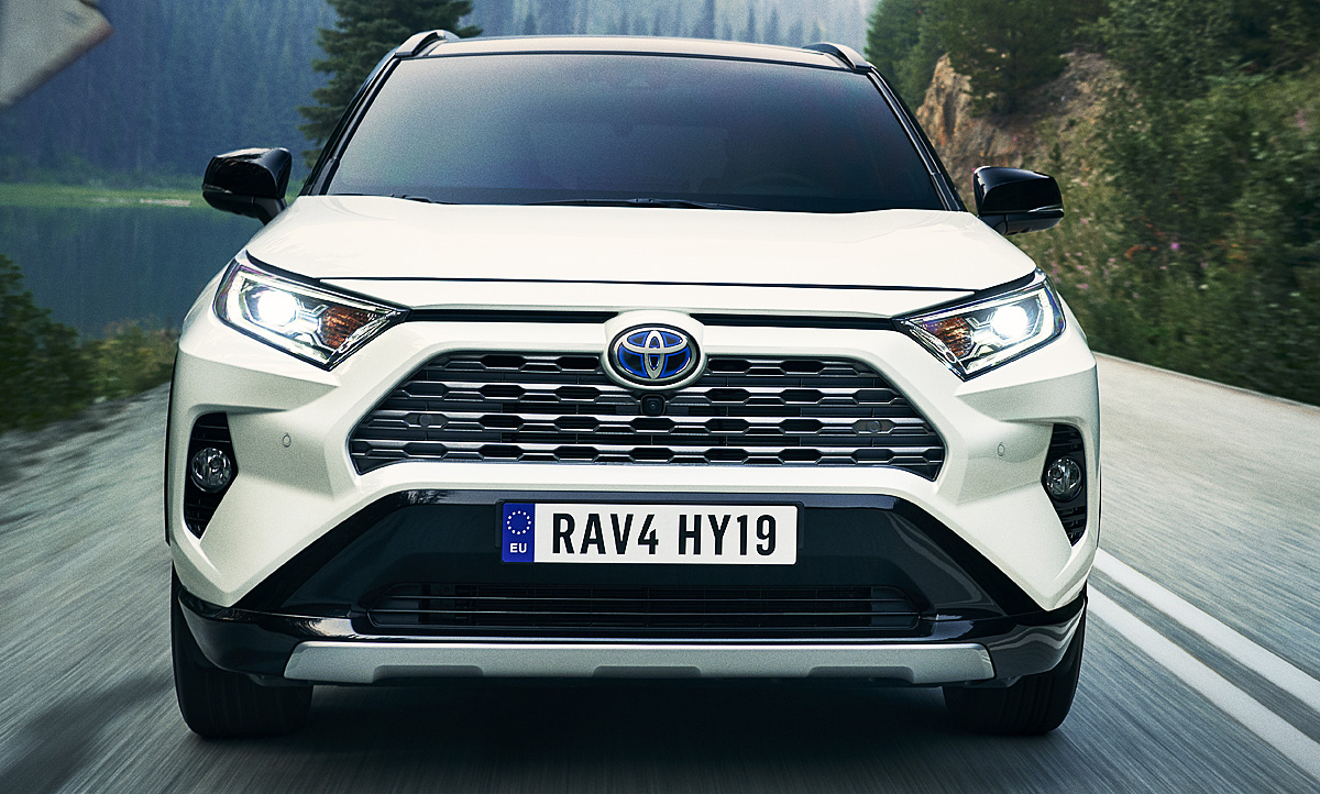 Toyota RAV4 setzt auf Hybridantrieb