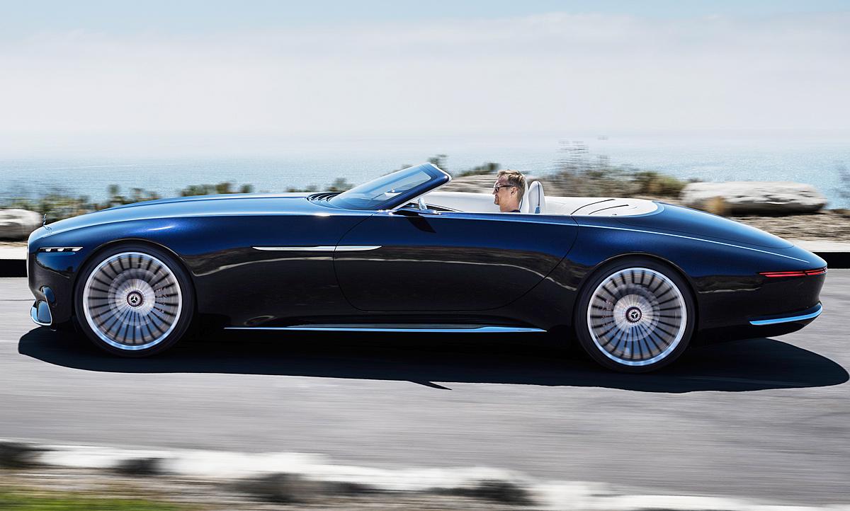 vision mercedes-maybach 6 cabrio (2017): fotos & motor |
