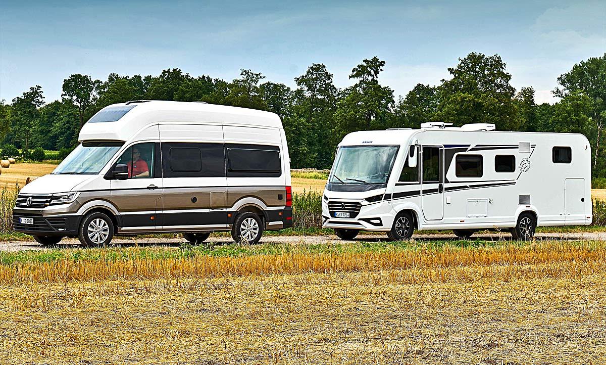 VW Grand California/Knaus Live I: Konzeptvergleich  autozeitung.de