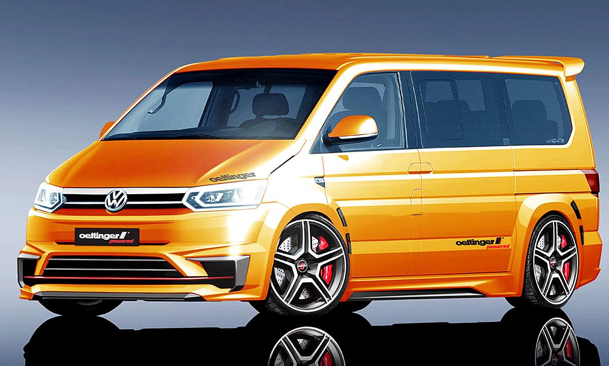 Vw Multivan T6 Tuning Von Oettinger Autozeitung De