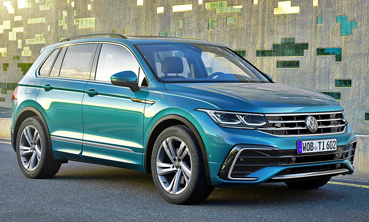 2020 VW Tiguan Exterior and Interior