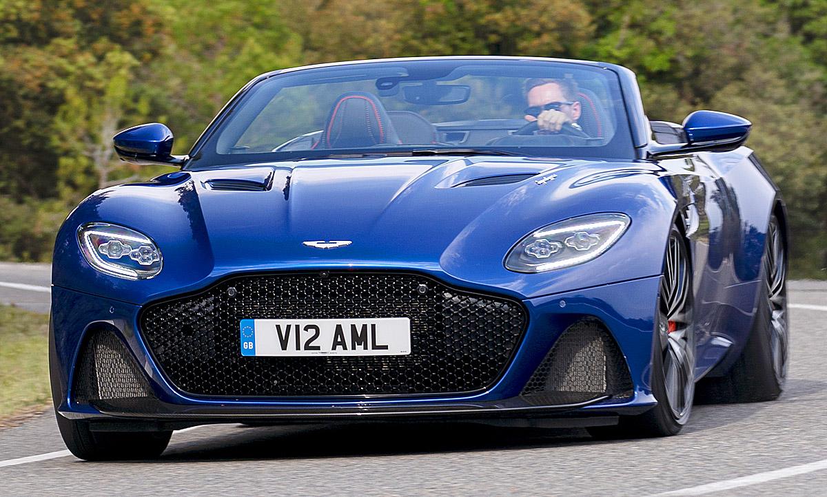 Neuer Aston Martin Dbs Volante 2019 Testfahrt Autozeitung De