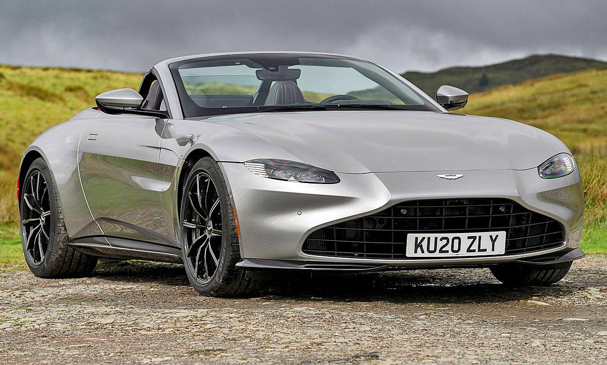 Aston Martin Vantage Roadster 2020 V8 Preis Autozeitung De