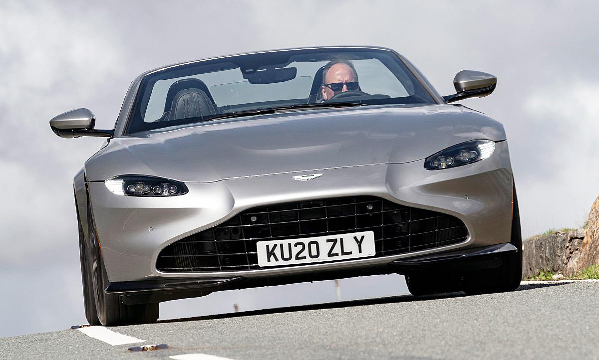 Aston Martin Vantage Roadster 2020 Testfahrt Autozeitung De