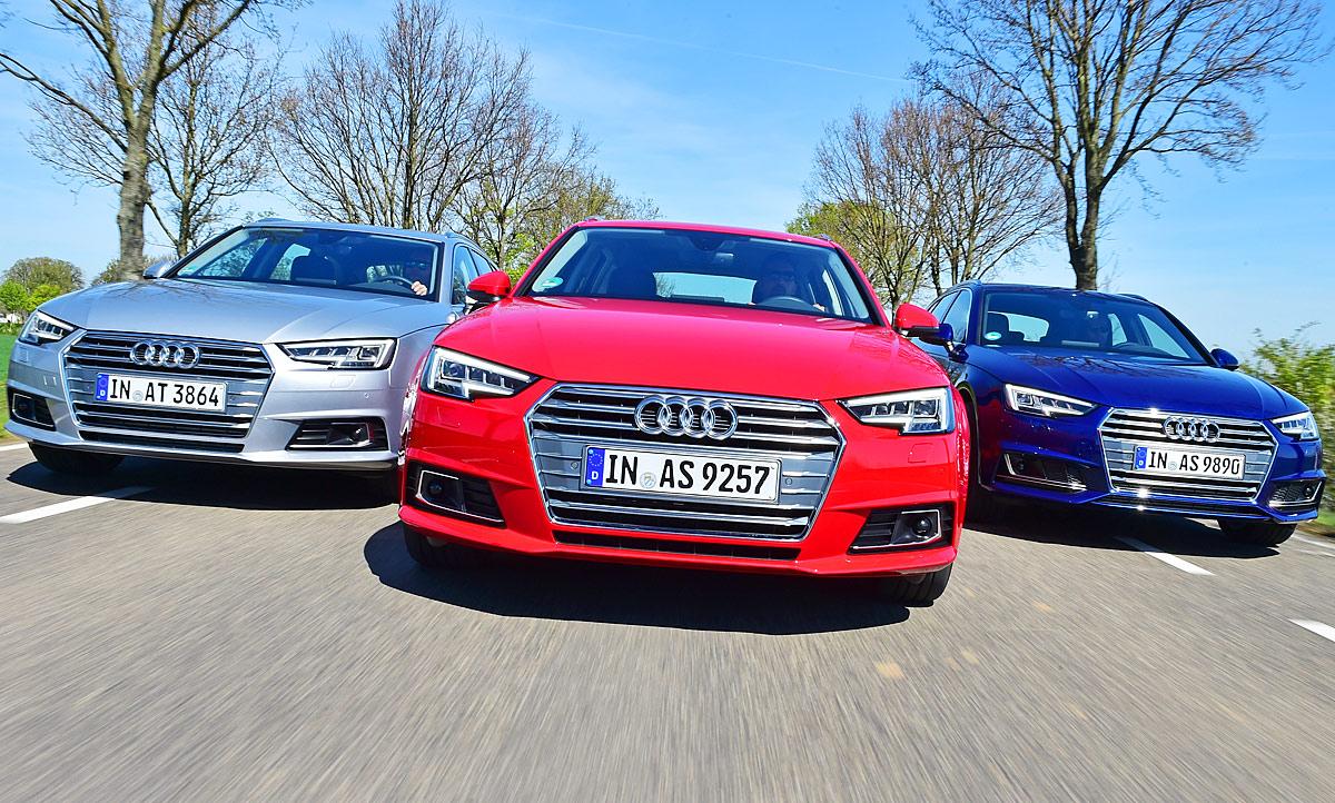 Audi A4 Avant Tfsitdig Tron Test Autozeitungde