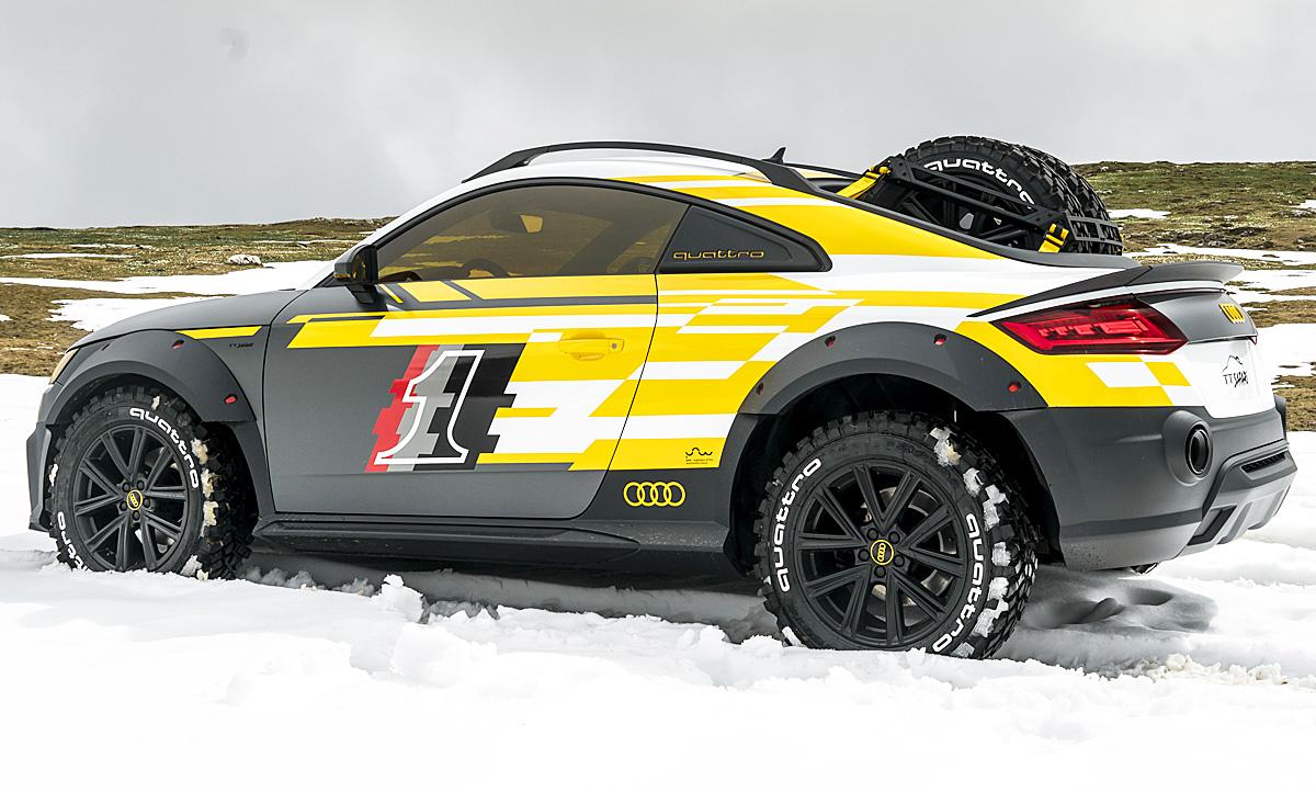 Audi Tt Safari Gti Treffen 2019 Autozeitung De