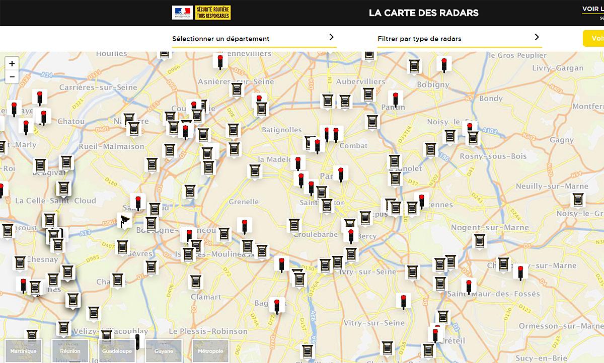 Mobile Blitzer Karte.Blitzer In Frankreich Karte Zeigt Wo Autozeitung De