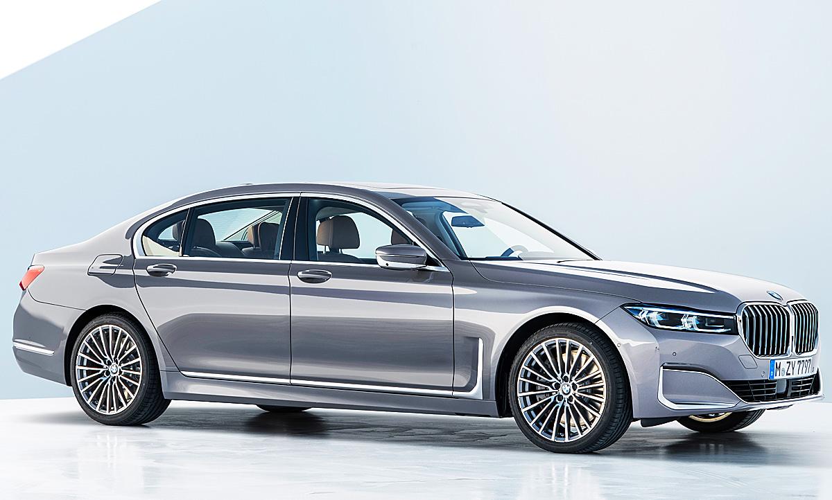 Bmw 7er Facelift 2019 Motor Ausstattung Autozeitungde