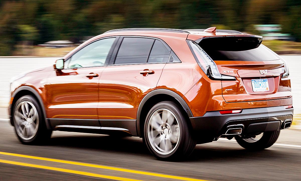 Neuer Cadillac Xt4 2018 Erste Testfahrt Autozeitung De