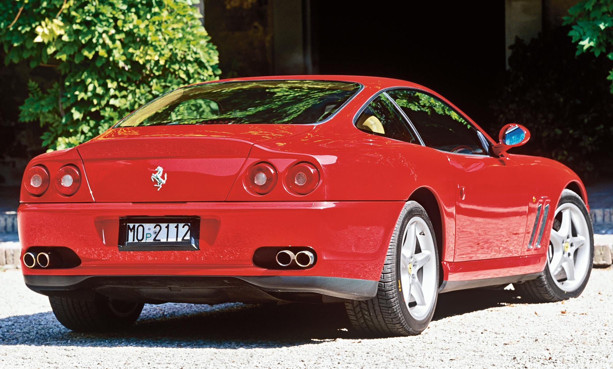 Ferrari 550 Maranello/Lamborghini Diablo SV Classic Cars