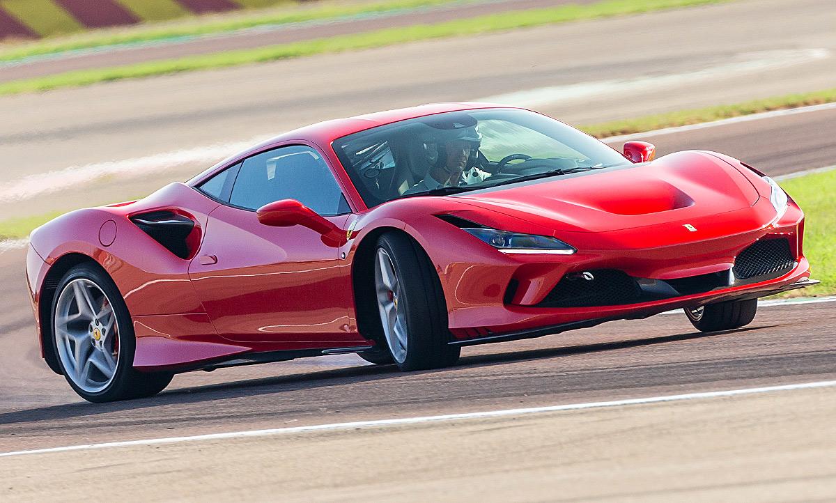 Neuer Ferrari F8 Tributo 2019 Erste Testfahrt Autozeitung De