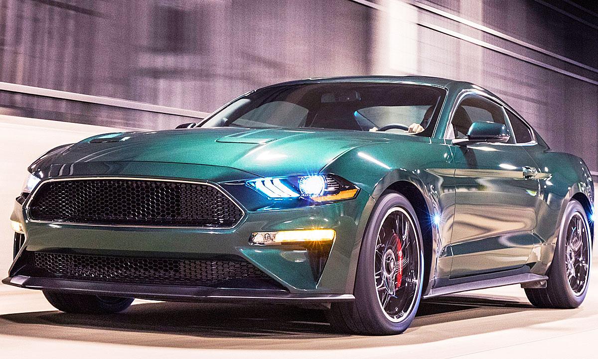 Ford Mustang Bullitt 2018 Motor Autozeitung De
