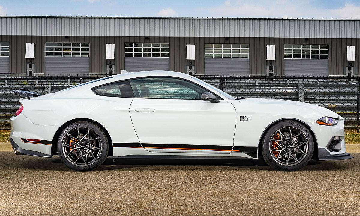 2020 Mustang Mach 1 History