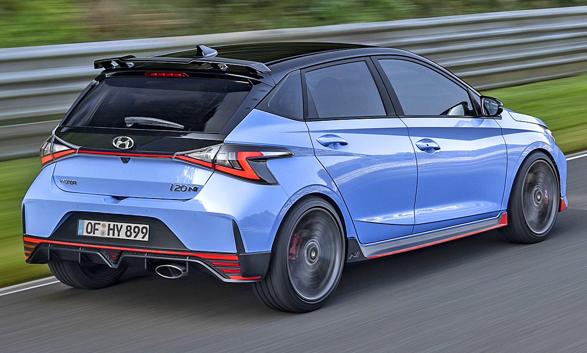 Neuer Hyundai i20 N 20 Erste Testfahrt   autozeitung.de