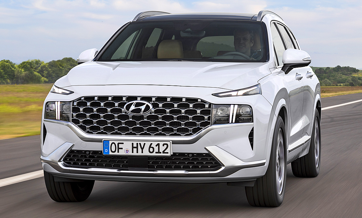 2020 Hyundai Santa Fe Speed Test