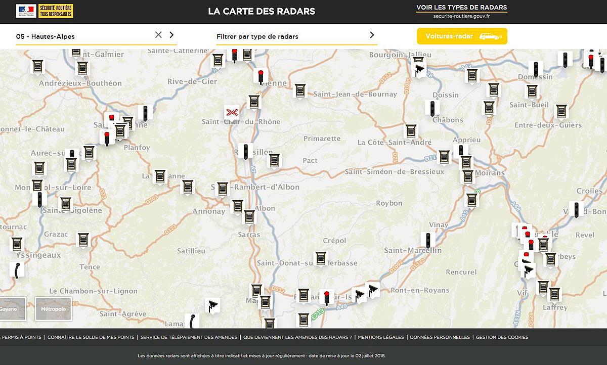 Blitzer In Frankreich Karte Zeigt Wo Autozeitung De