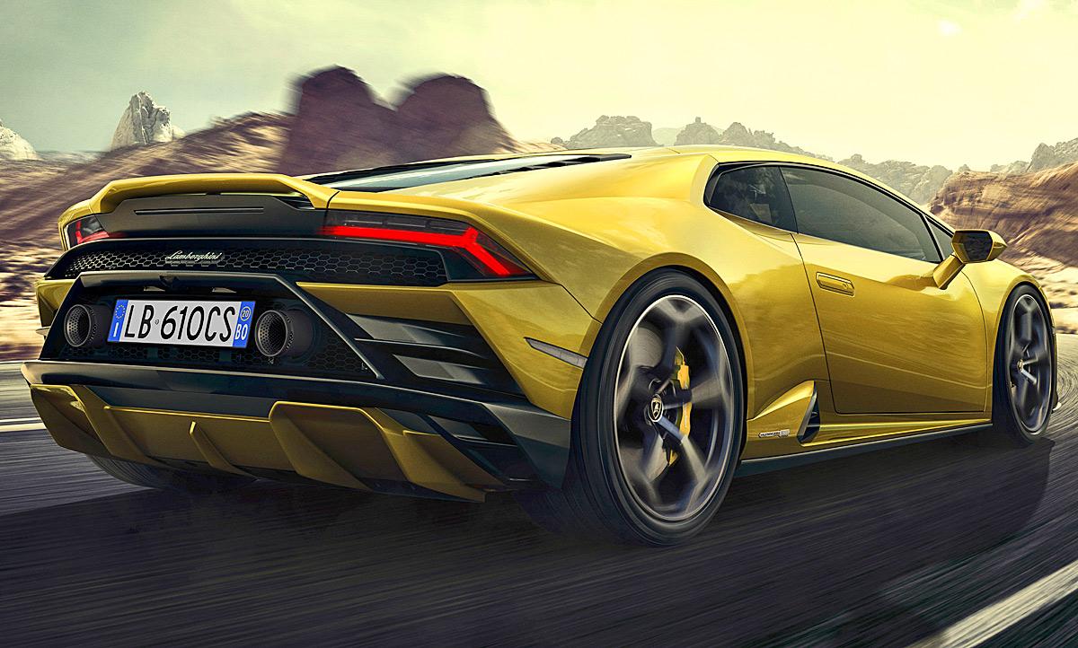 2020 Lamborghini Huracan Wallpaper