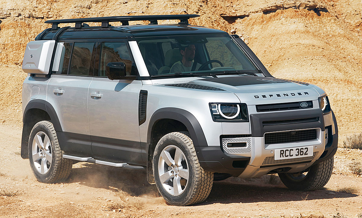 2020 Land Rover Defender Ratings