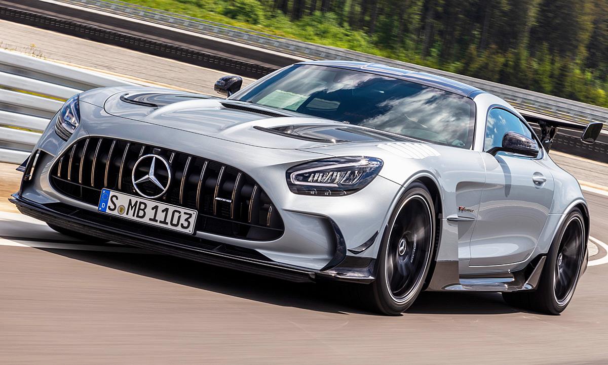 2020 Mercedes AMG GT Speed Test