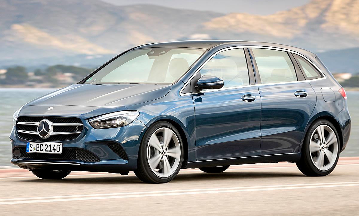 Mercedes Benz B Klasse 2021