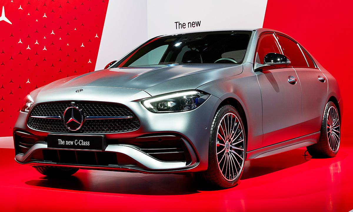 Mercedes C-Klasse Limousine (2021): Hybrid | autozeitung.de