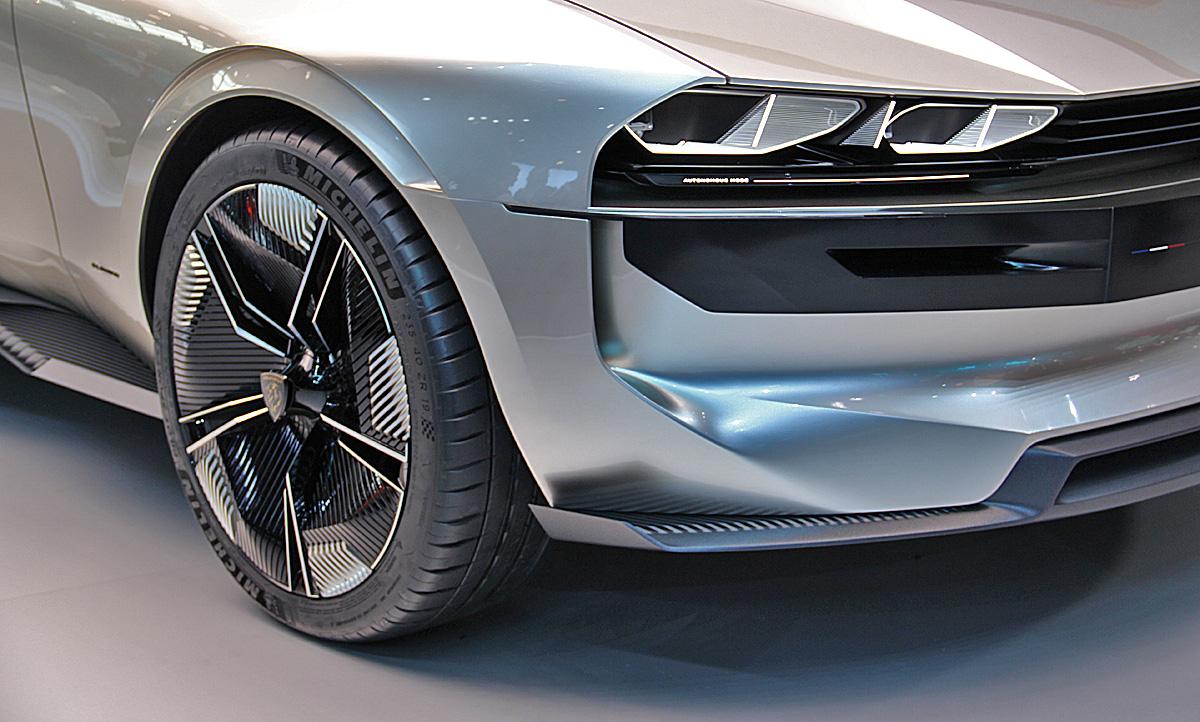 Peugeot E Legend Autosalon Paris 2018 Autozeitung De