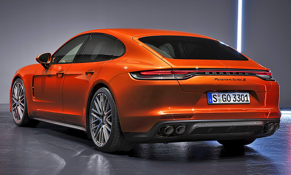 Speed Test 2020 The Porsche Panamera