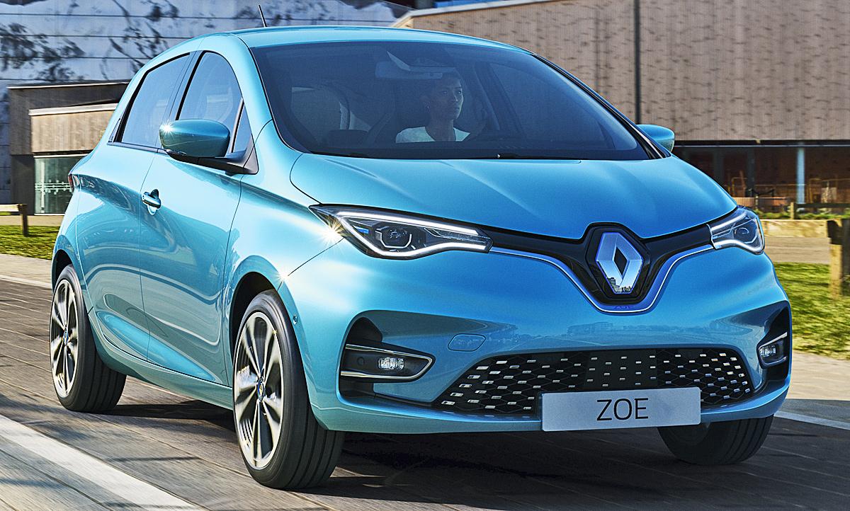 Renault Zoe Versicherung Typklasse