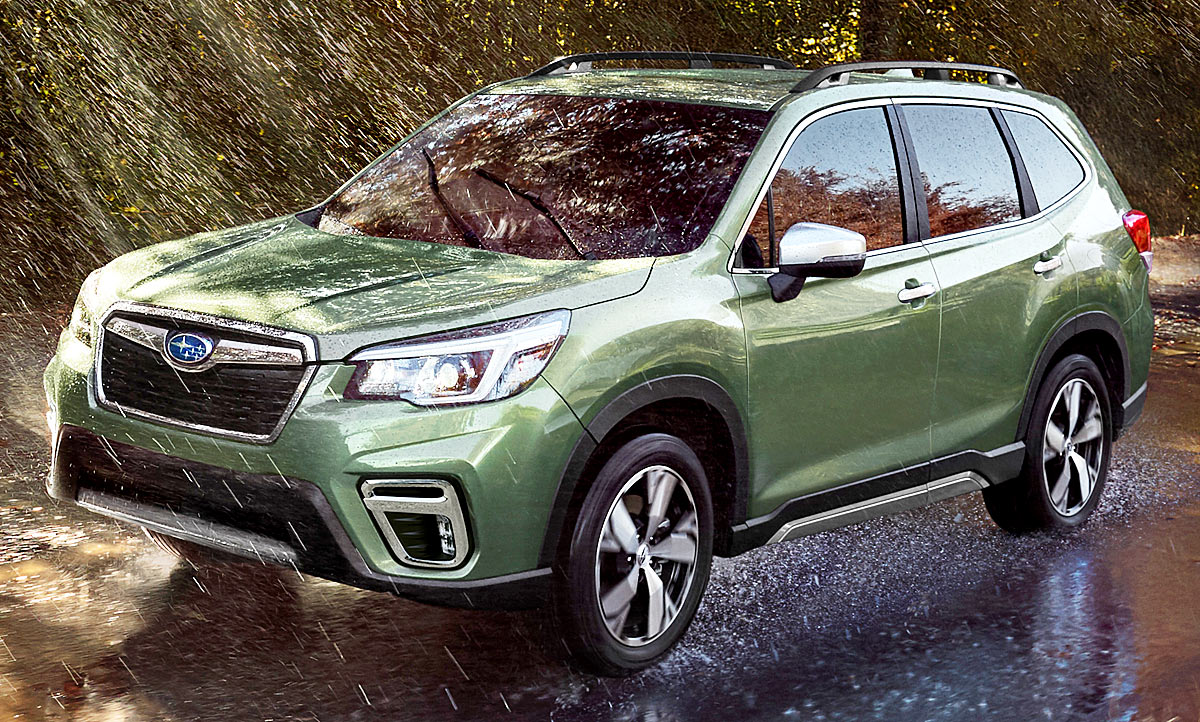 Subaru Forester 5 Generation Autozeitung De