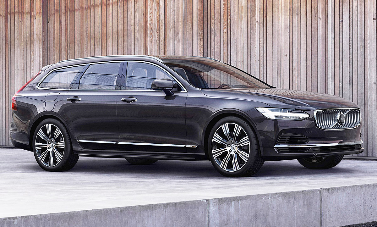2020 Volvo V90 Spy Shoot