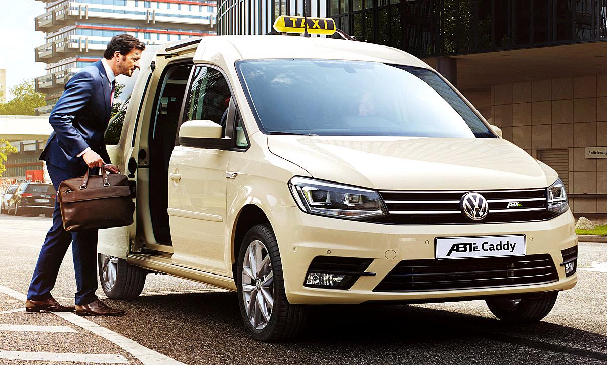 VW Abt E Caddy IAA Nutzfahrzeuge 2018 Autozeitungde