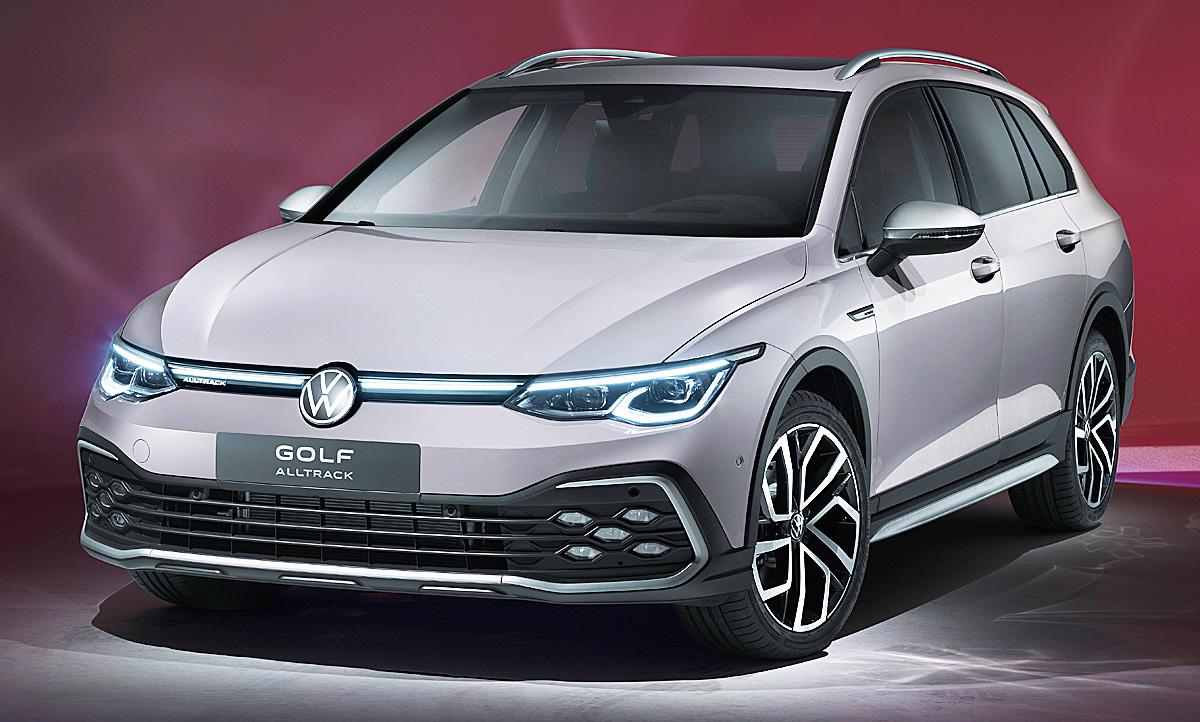 Vw Golf 8 Variant Alltrack 2020 Video Autozeitung De