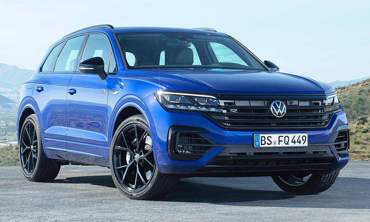 2020 Volkswagen Touareg New Review