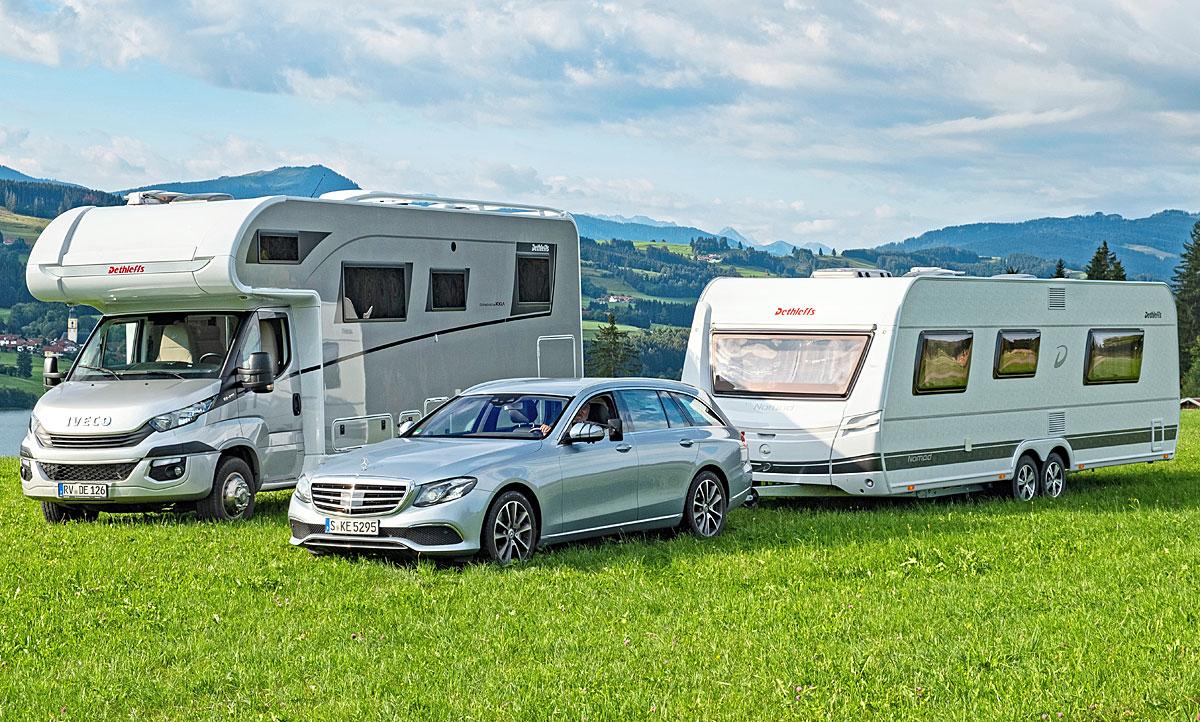 Wohnmobil/Wohnwagen: Konzept-Vergleich  autozeitung.de