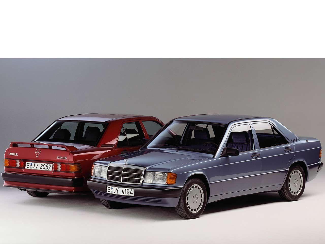 25 Jahre Mercedes 190e Schematics For