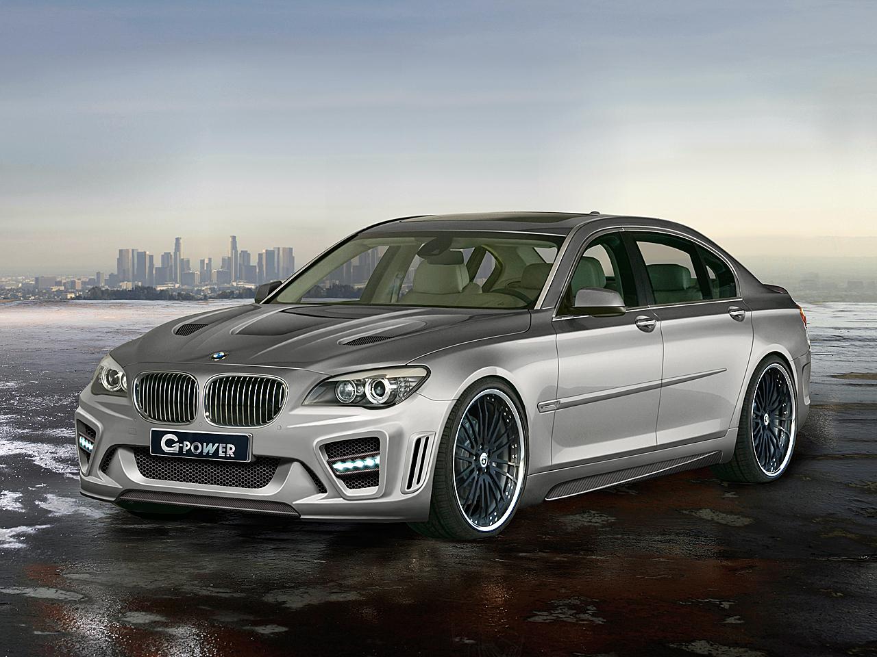 G Power 760i Storm BMW 7er Mit 725 PS Und 345 Km H Spitze